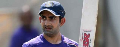 Gambhir makes statement of intent