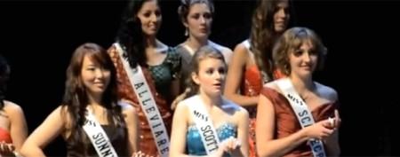 Beauty pageant winner's noble gesture