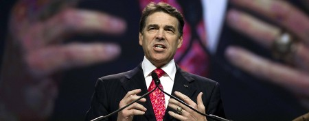 Gov. Rick Perry announces his plans for 2014