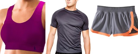 The best fitness clothes from chain stores