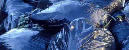Garbagemen's annoying deed caught on tape