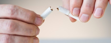 Man goes to extremes to quit smoking