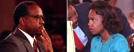 Shocking start to new film on Anita Hill