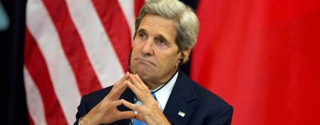 Kerry leaving China talks to be with sick wife