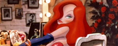 Star's look inspired by Jessica Rabbit?