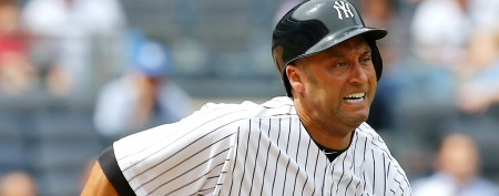 Derek Jeter hurt in first game since injury