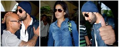 Ranbir, Katrina return from Ibiza trip