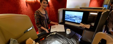 Singapore Airlines' new First Class cabins