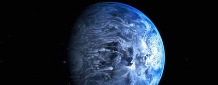 Hubble reveals planet's true blue color