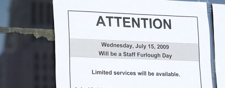 Furloughed workers band together online
