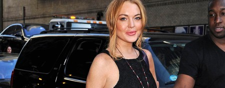 Lohan lines up major postrehab interview