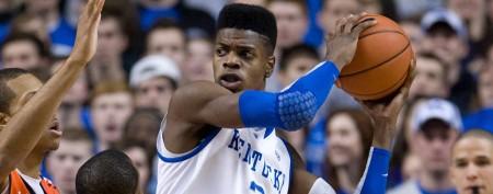 NBA draft pick uses slight to choose number
