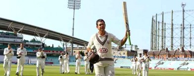 The last roll of Ponting's bat