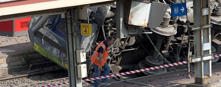Likely cause of train derailment in France