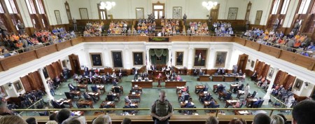 Texas abortion bill passes as Dems vow fight