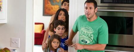 Adam Sandler movie edged out in debut
