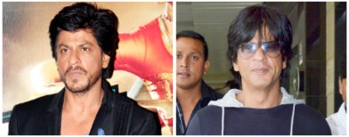OMG! SRK finally cleans up his act!