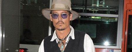 Johnny Depp takes girlfriend on trip