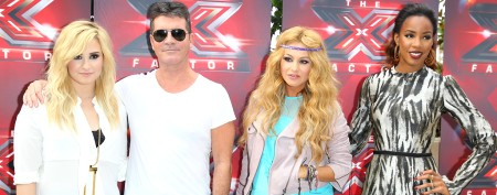 Check out the new 'X Factor' judges in action