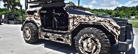 Luxury hunting truck costs as much as a house
