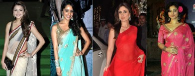 Choose the perfect saree for your body