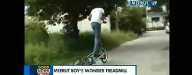 Meerut boy designs travelling treadmill