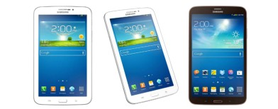 Samsung Galaxy Tab 3 Series Launched