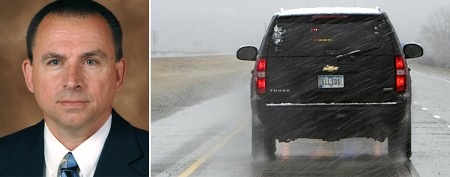 Iowa cop fired after chasing governor's vehicle