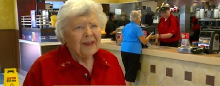 92-year-old may be oldest McDonald's worker