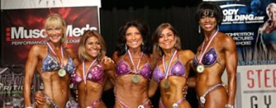 Bodybuilders: Tanned and over 50!
