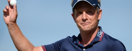 British Open golfer's ridiculously lucky shot