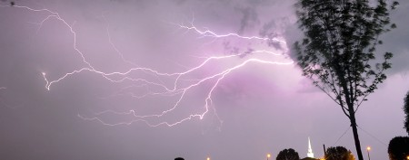 Lightning strikes 13 people in one day