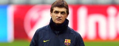 Vilanova stands down as Barcelona coach