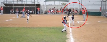 6-year-old makes incredible baseball catch
