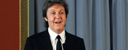 Comic's lucky encounter with Paul McCartney