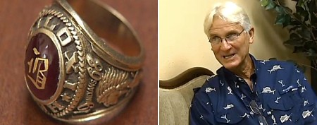 Lost class ring returned after 45 years