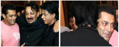 Salman and SRK kiss and makeup!