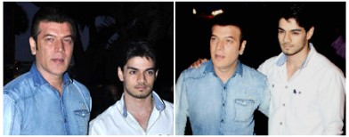 Suraj Pancholi steps out to celebrate