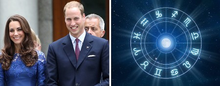 What royal baby's sign says about him