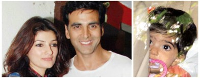 Revealed: Akki and Twinkle's daughter!