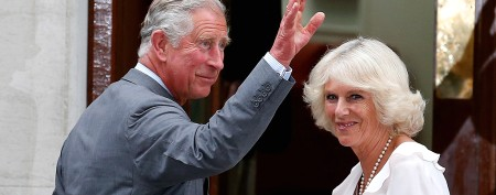 Prince Charles makes first visit to see royal baby