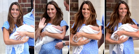 Kate Middleton's dazzling postdelivery look