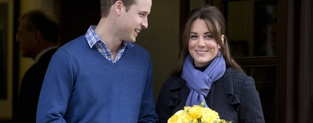 William and Kate thank hospital for care