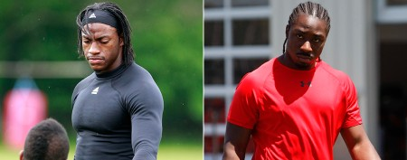 'Miracle' that RG3 and rookie running back share