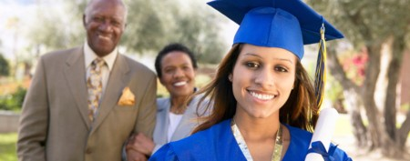Parents contributing less for college costs