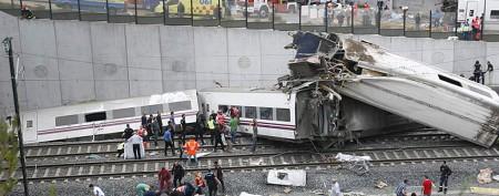 High-speed train derails in Spain