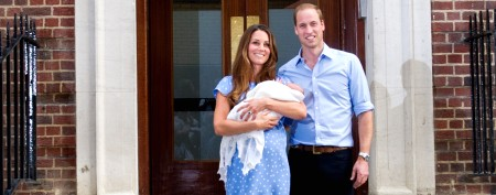 Fit for a king: Royal baby's name revealed
