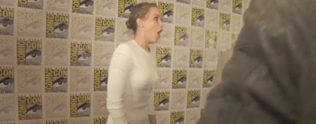 Jennifer Lawrence freaks out meeting movie hero