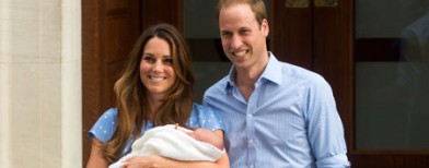 Kate and William name their son...