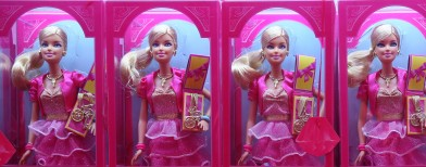 Look what's happened to the Barbie doll!